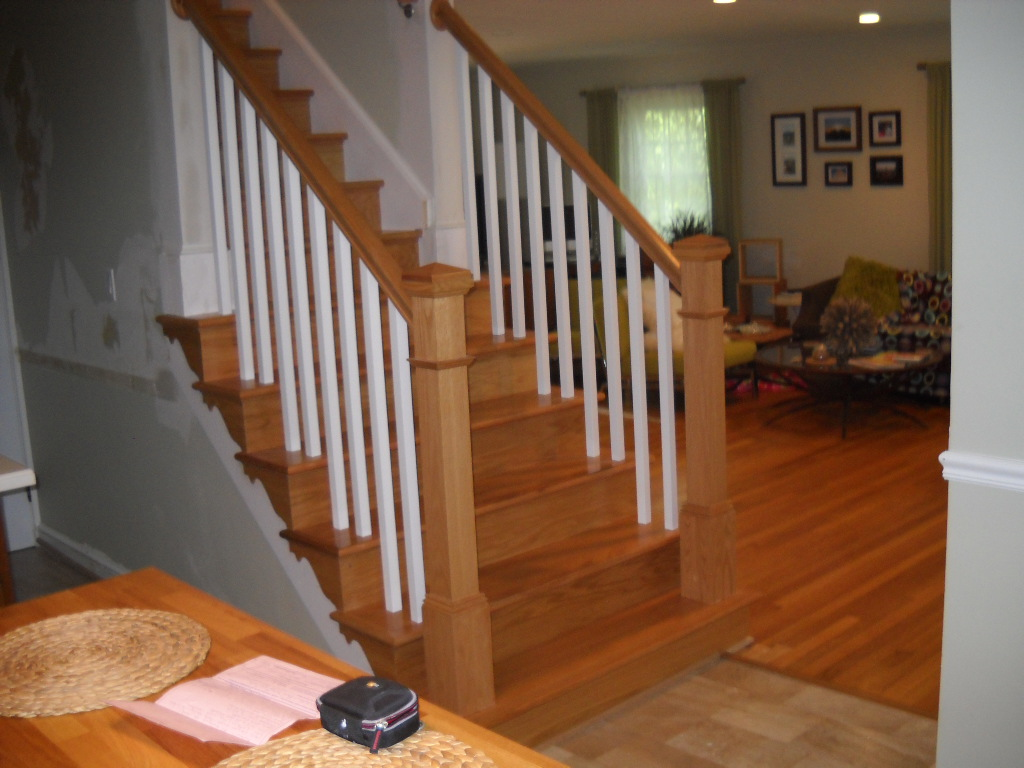 Replace Wood Railings Ashburn Precision Interior Rails