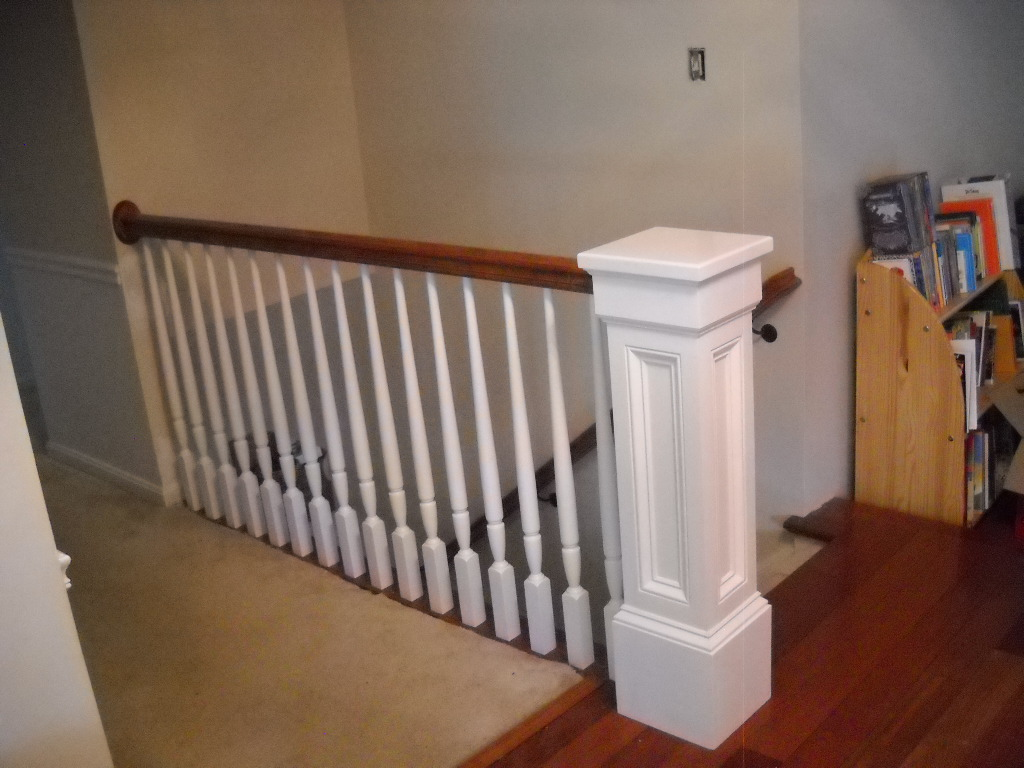 Replace Wood Railings Fairfax Precision Interior Rails
